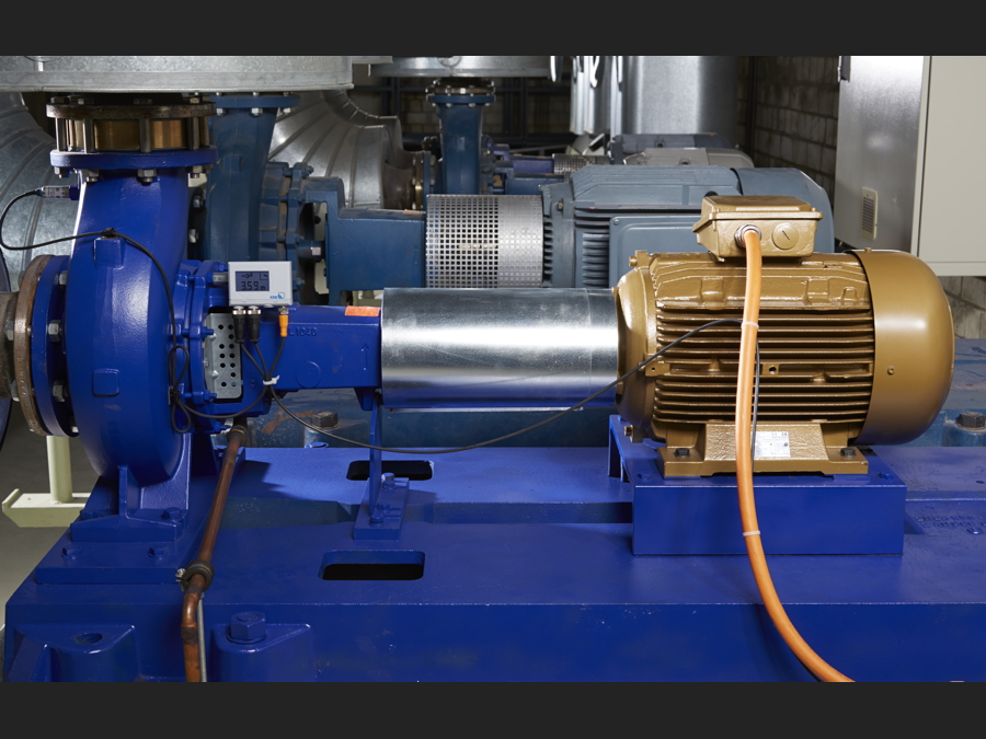 KSB SuPreme Pumpe bei Gruner und Jahr, Hamburg. Pumpe JL 1040,  Typ A160L4210B3